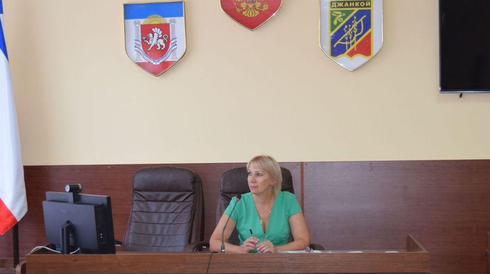 В администрации города Джанкоя состоялось заседание комиссии по вопросам труда, заработной платы, содействия занятости населения и уменьшения теневой занятости