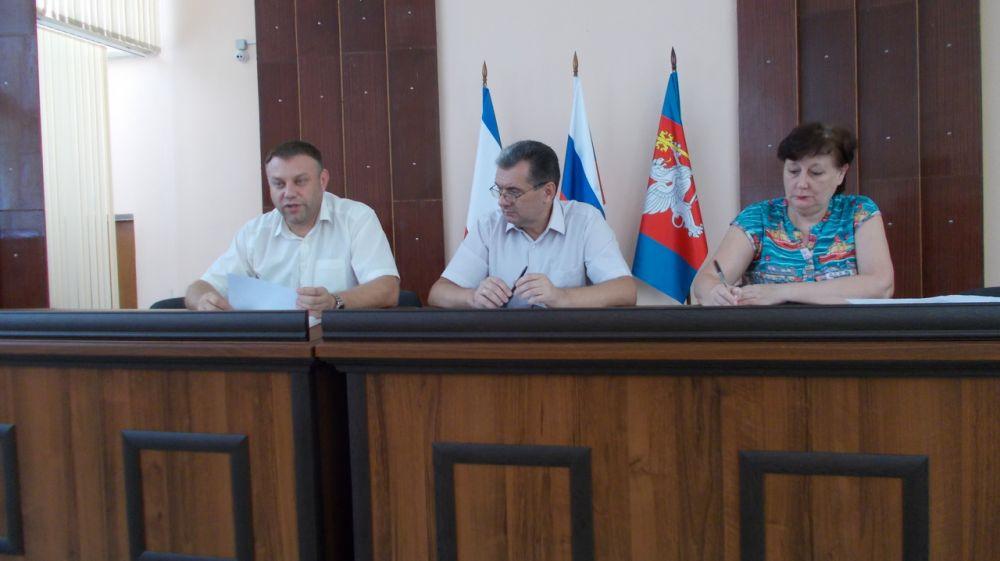В администрации Красноперекопского района проведено заседание Межведомственной комиссии