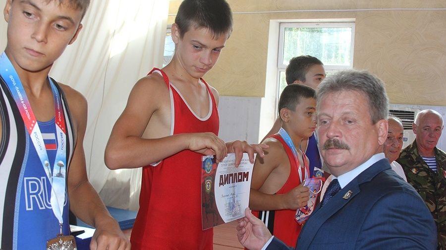 В Феодосии в четвертый раз прошел борцовский турнир памяти Героя России Марка Евтюхина