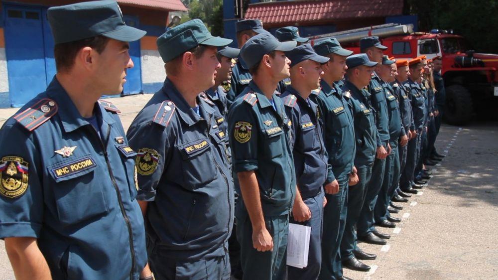 В севастопольском МЧС выбрали лучшего пожарного