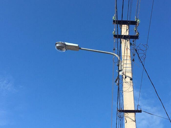 В сакском микрорайоне Амет-Хан Султан установят уличные светильники