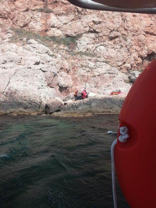 В Балаклаве мужчина упал со скалы и разбился насмерть