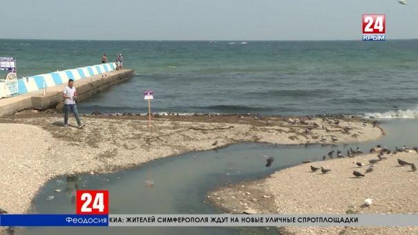 Как в Феодосии решают проблему слива сточных вод в акваторию Чёрного моря?
