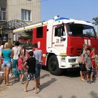 Крымские огнеборцы приняли участие в акции «Добровольцы - детям»