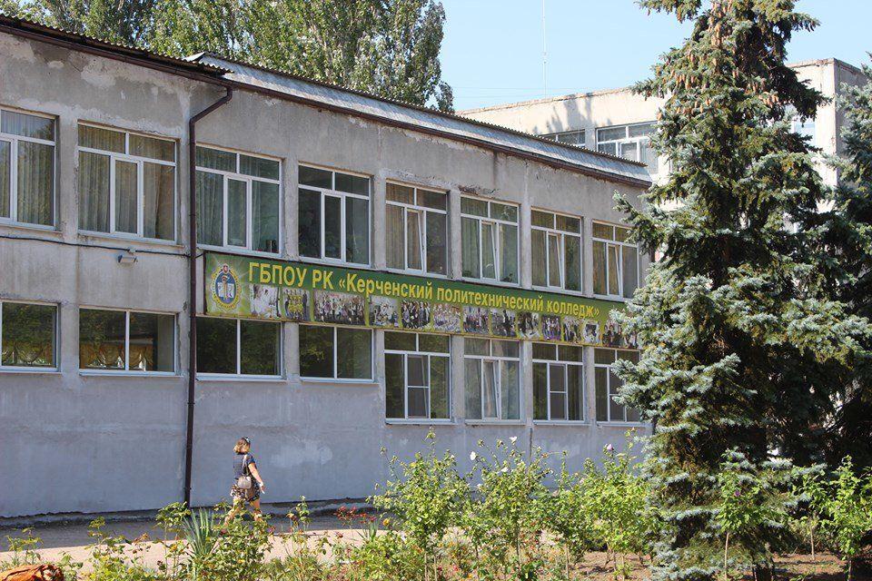 Возле Керченского политеха устанавливают памятный знак жертвам трагедии