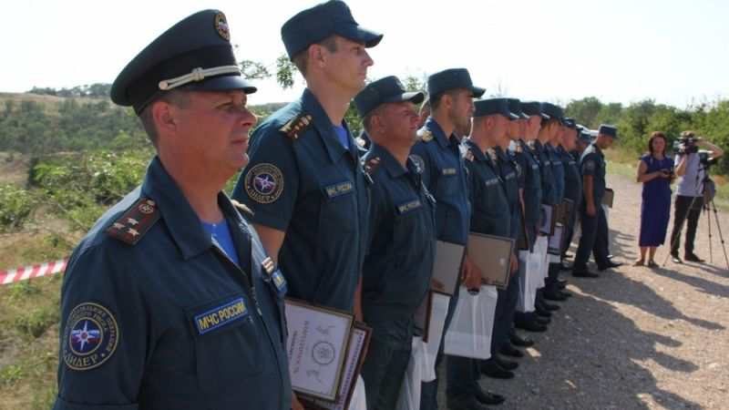Отряд Центра «Лидер» МЧС России разминировал крепость Керчь