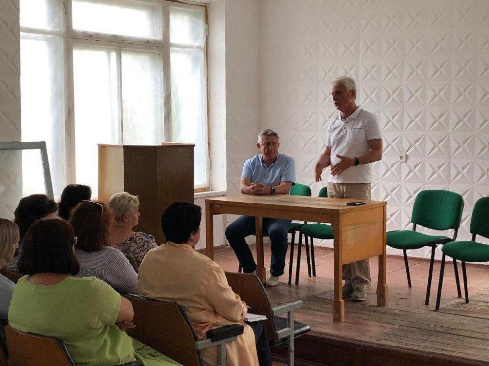 «Вода Крыма» приняла в хозяйственное ведение водную систему Щёлкино