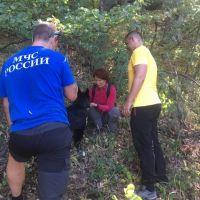 В горах Крыма спасен человек