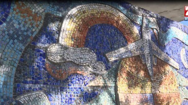 Сохранить красоту. Остановочные павильоны, украшенные мозаикой, нуждаются в реставрации