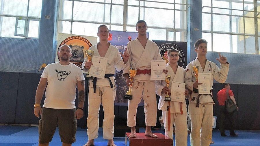 Симферополец Александр Гурин выиграл Всероссийский турнир по джиу-джитсу в Санкт-Петербурге