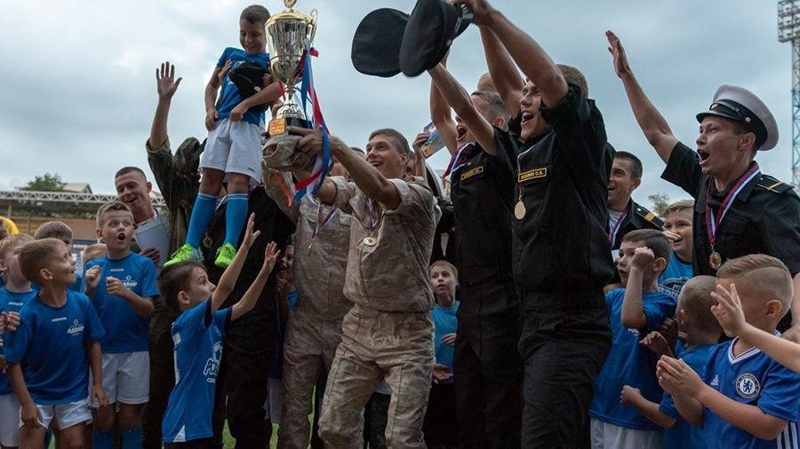В Севастополе сегодня стартует чемпионат Вооруженных Сил РФ по футболу