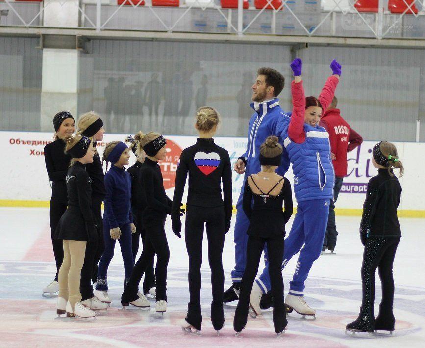 Звёзды мировой величины провели благотворительный мастер-класс для юных фигуристов Ялты