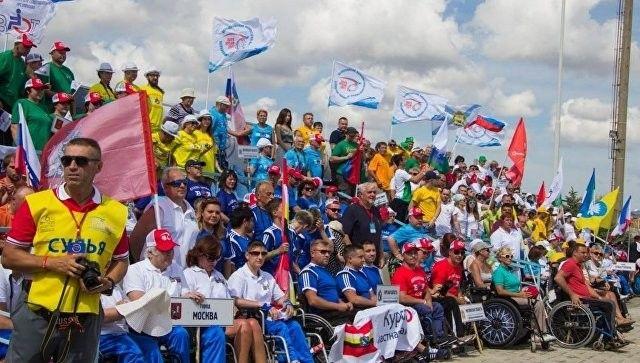 В Евпатории открылся фестиваль для людей с инвалидностью «Пара-Крым»