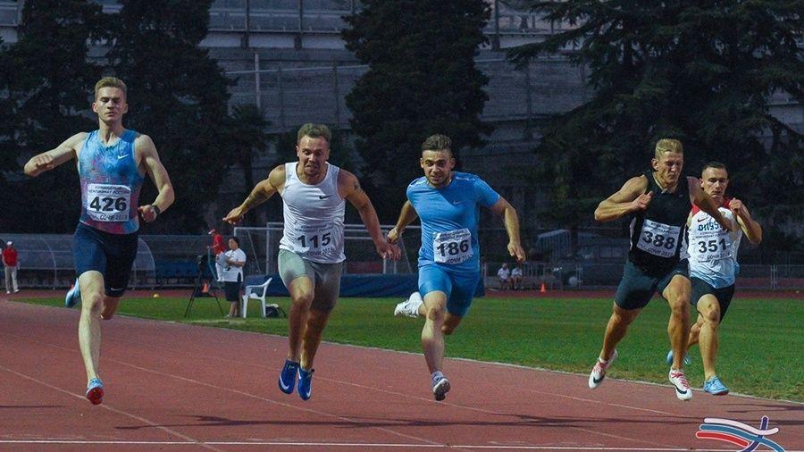Крымчане завоевали три медали в стартовый день командного чемпионата России по легкой атлетике