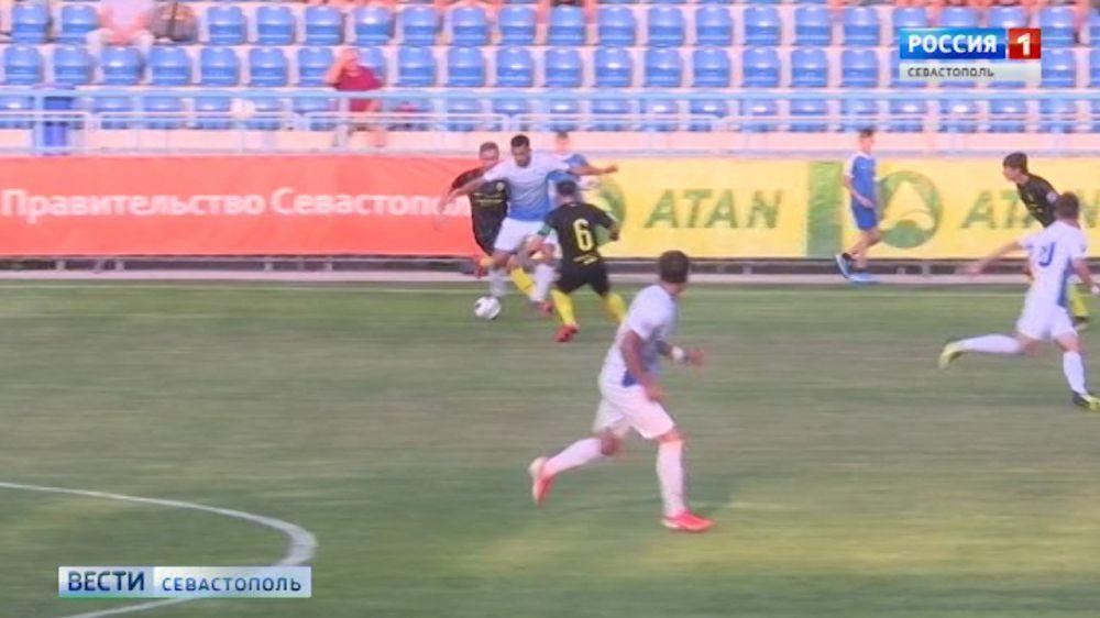 Матч в Севастополе завершился со счётом 1:1