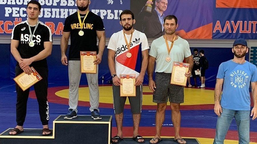Все победители и призеры командного чемпионата Крыма по греко-римской борьбе