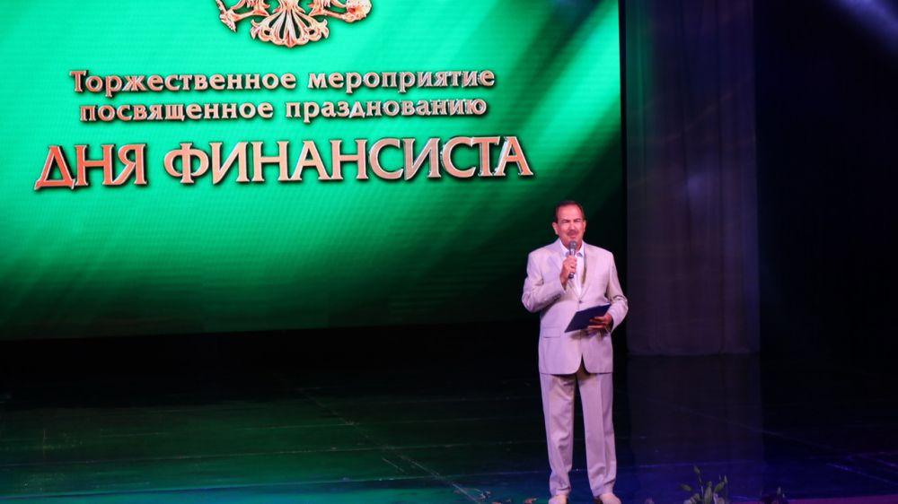 В столице Крыма торжественно отметили День финансиста