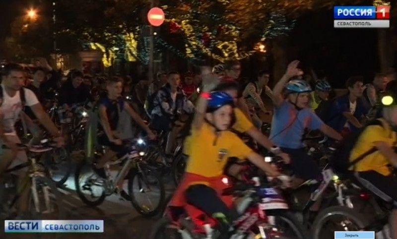 Севастополь готовится к Пятому ежегодному фестивалю «ВелоНочь-2019»