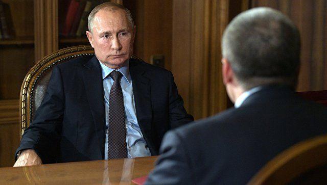 Аксенов: благодарю президента за доверие