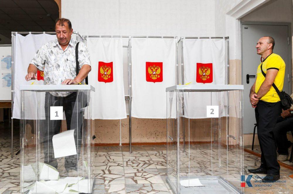 Партия «Единая Россия» стала победителем на выборах в Крыму, — избирком