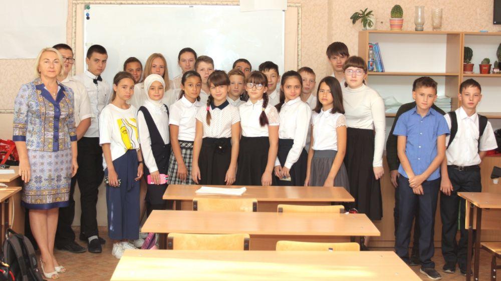 Минприроды Крыма проводятся открытые уроки о реализации нацпроекта «Экология»