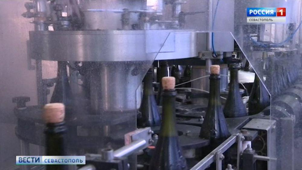 На севастопольском винодельческом заводе запустили новое оборудование