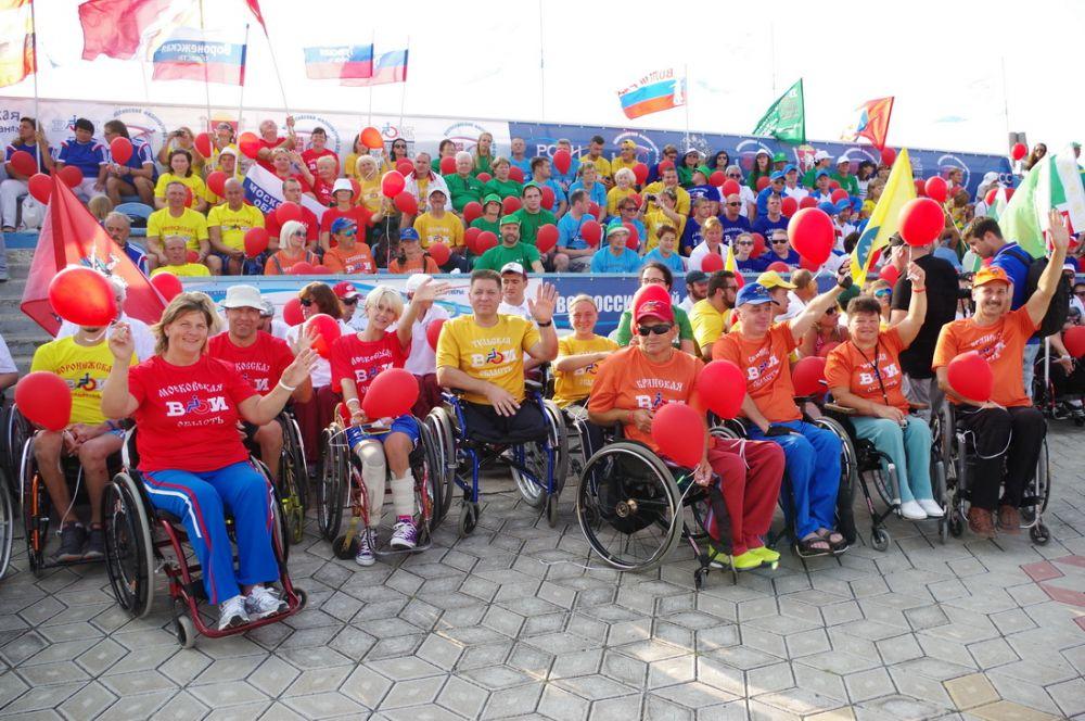 Команда из Перми стала победителем всероссийского фестиваля инвалидов «Пара-Крым 2019»