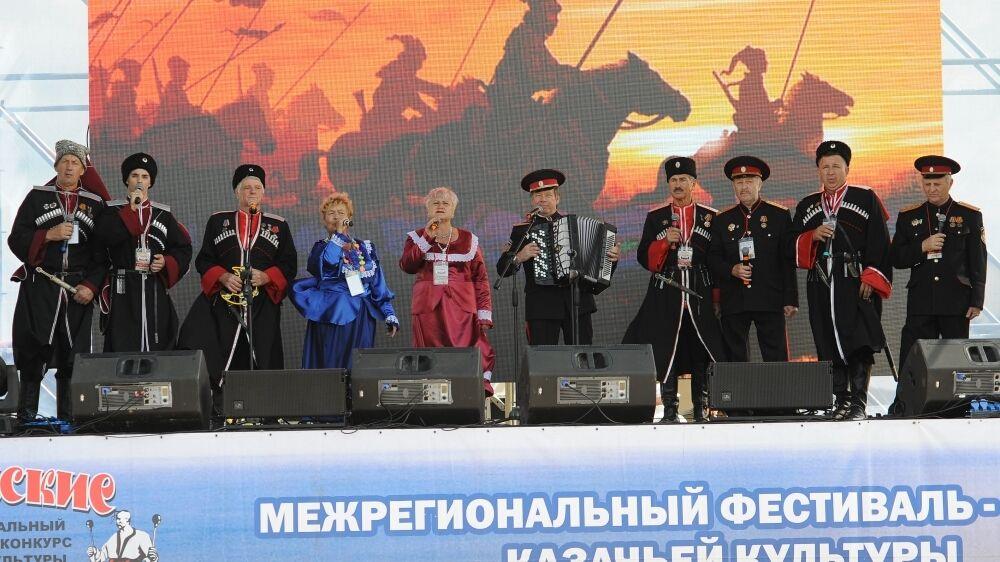 В республике прошел ежегодный Межрегиональный фестиваль-конкурс казачьей культуры «Крымские тулумбасы»
