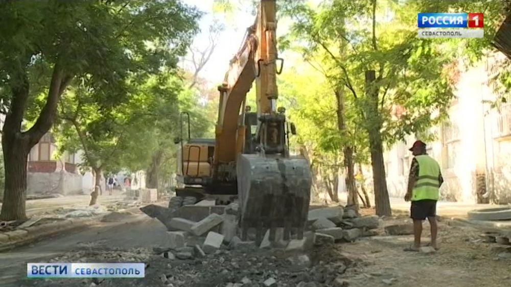 Из-за ремонта на Центральном холме изменилась схема движения транспорта