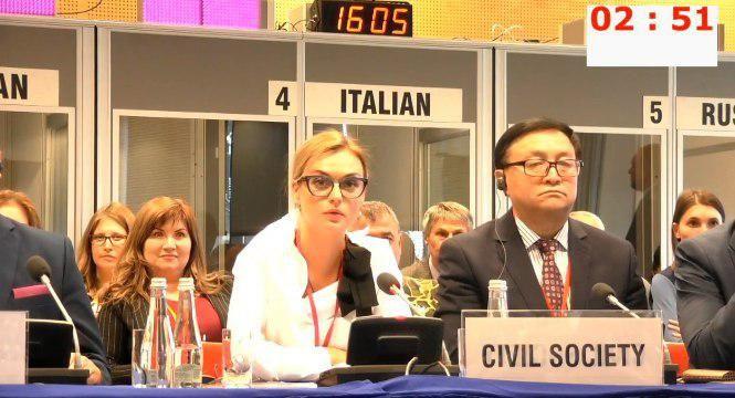 Украина попыталась сорвать выступление представителя Крыма на секции ОБСЕ