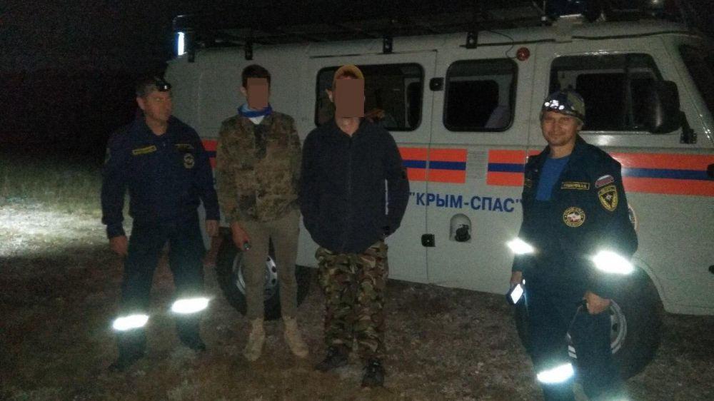 Двое туристов ночью заблудились на Чатыр-Даге