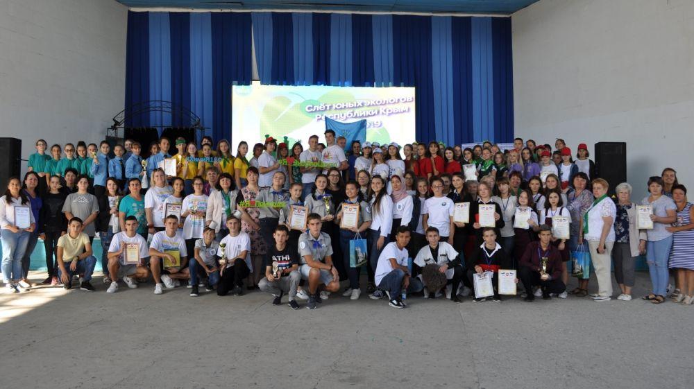 В Евпатории прошел республиканский слет юных экологов Республики Крым