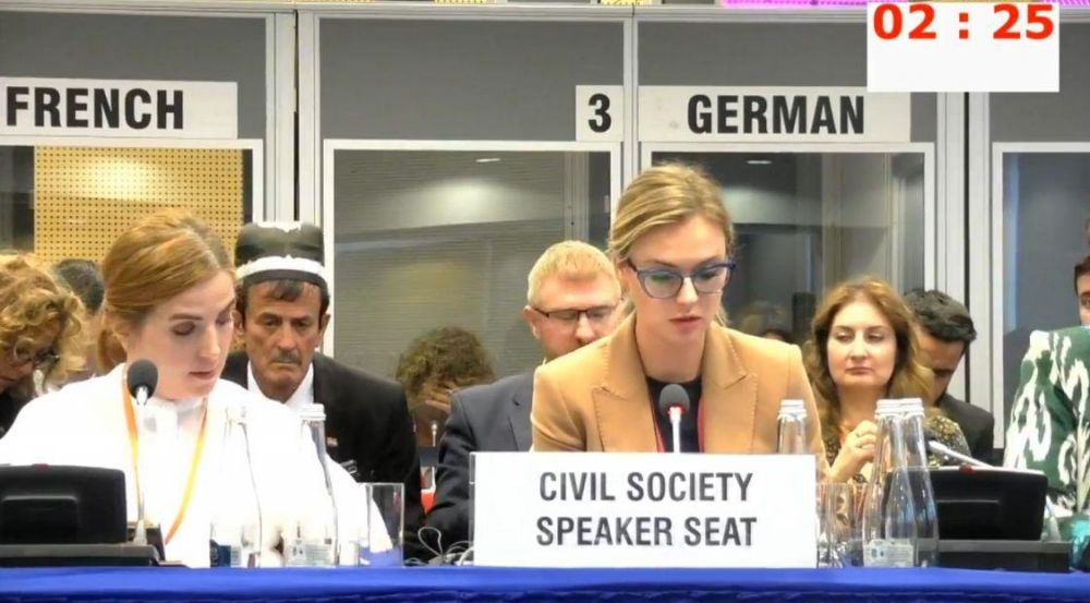 Мария Волконская в Варшаве: «В отличие от Крыма, на Украине не уважают свободу слова»