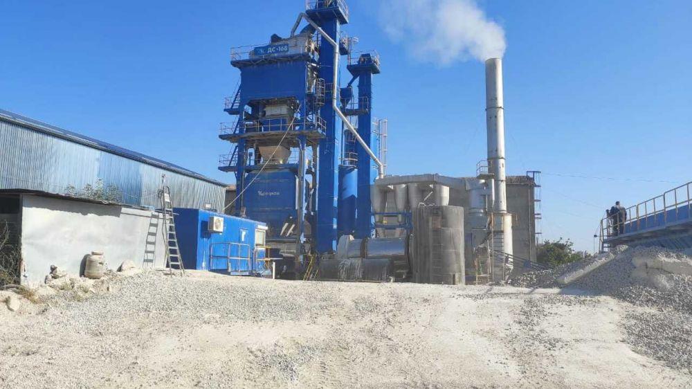 Реализация нацпроекта в Крыму способствует развитию асфальтобетонных заводов республики
