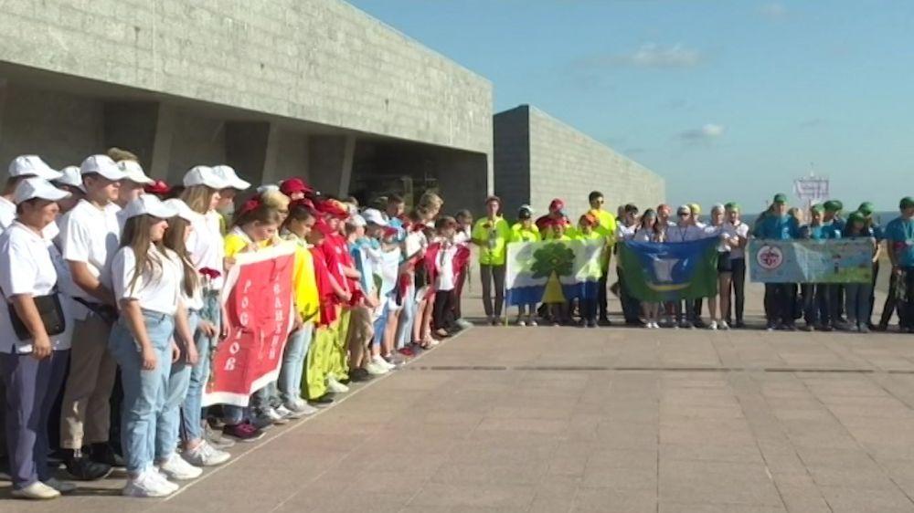 Севастополь впервые принимает юных краеведов со всей страны