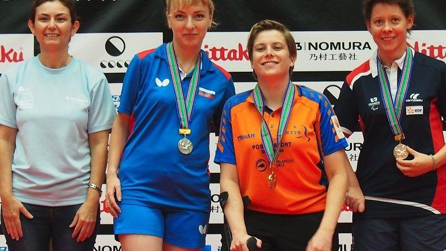 Виктория Сафонова из Симферополя – бронзовый призер чемпионата Европы по настольному теннису!