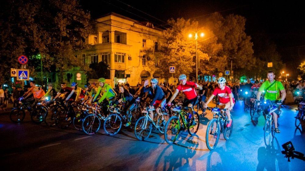 На время «Велоночи» будет ограничено движение в центре Севастополя