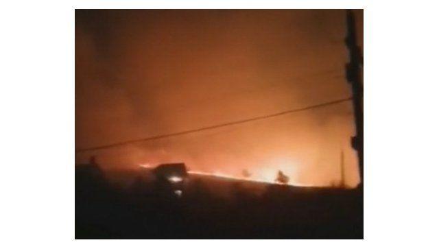 #Народнаясводка: пожар в Орджоникидзе