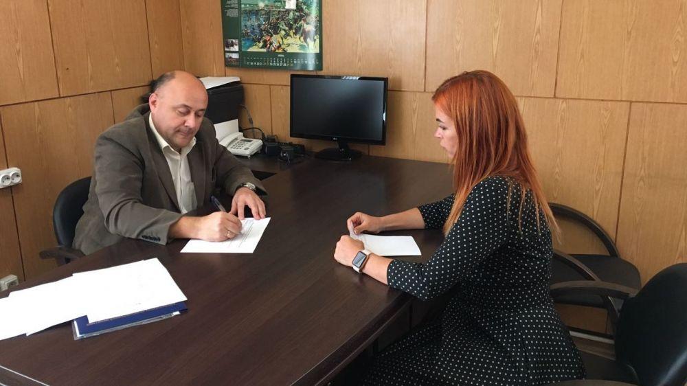 Константин Равич провел выездной прием жителей Черноморского района