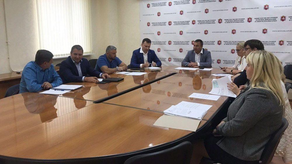 Сергей Зырянов провел рабочее совещание, посвященное взаимодействию с АО «Крымтелеком»