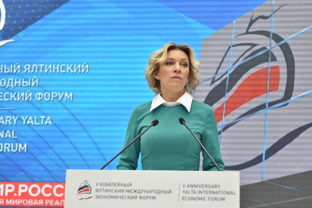 Мария Захарова призвала Зеленского обратить внимание на ситуацию с уголовным преследованием крымских журналистов