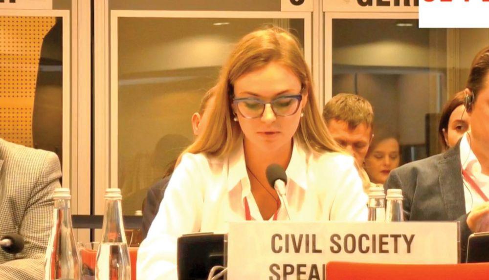 Свободы слова и самовыражения на Украине нет и не будет, - Мария Волконская