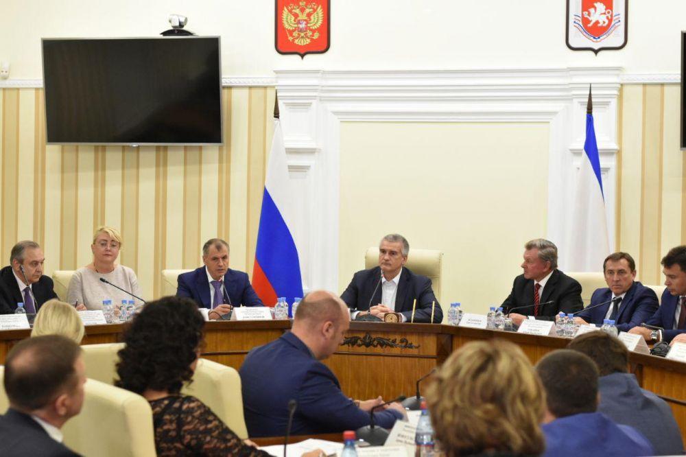 Совет министров Крыма сложил полномочия