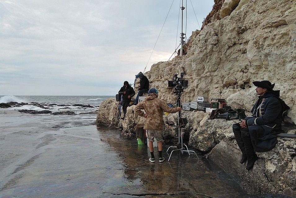В Крыму продолжаются съёмки фильма «Гардемарины-4»