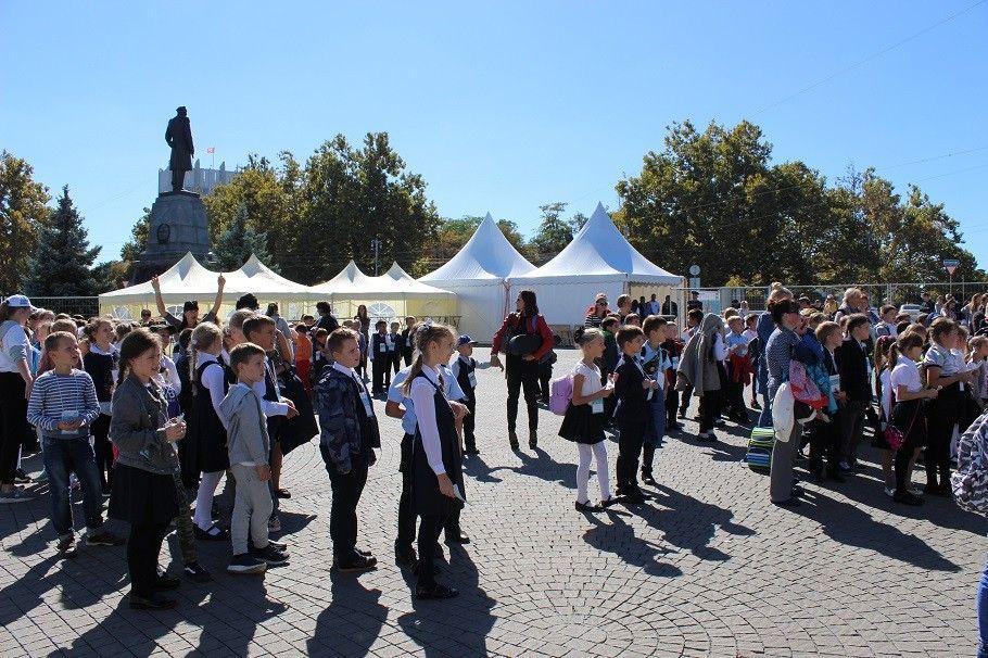 Севастопольские школьники осваивают «Азбуку профессий»