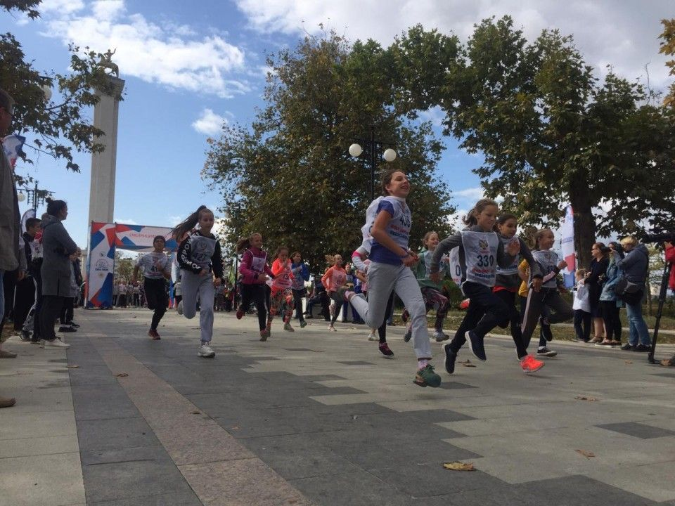 В севастопольском Парке Победы прошел Цифровой забег