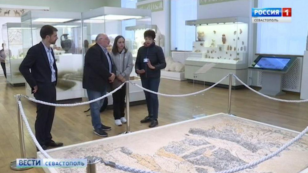 Херсонес может стать съемочной площадкой фильма о греках Причерноморья