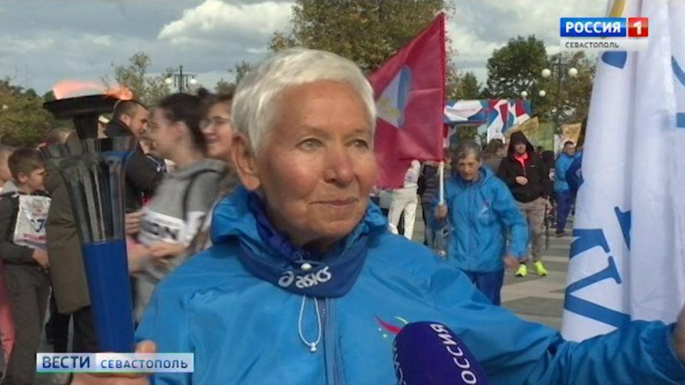 В Севастополе финишировала эстафета «Бег Мира»