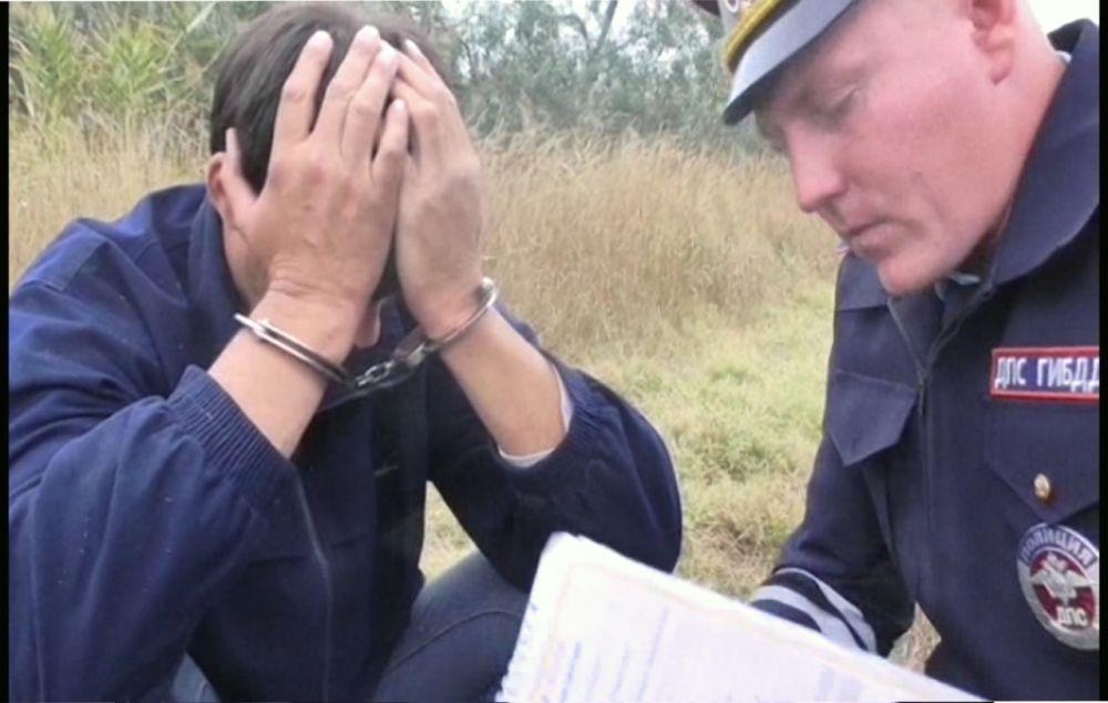 В Крыму устроили погоню со стрельбой за водителем под кайфом