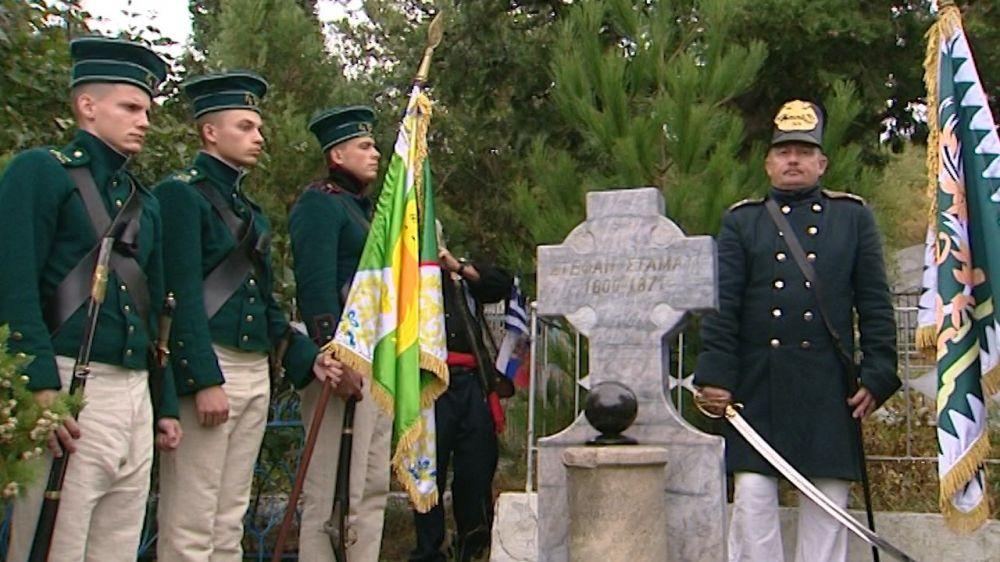 В Севастополе почтили память погибших под Балаклавой 165 лет назад